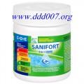 САНИФОРТ КОМБИ  3в1 за дезинфекция на вода в плувни басейни и поддръжка
