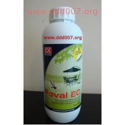 FOVAL EC 1 литър. Препарат против комари и други насекоми.