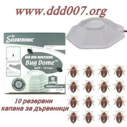 Резервни капани за електрически уред против дървеници Bug Dome от Silvandersson – Швеция.