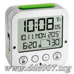 "Автоматичен радиосверяем будилник ""BINGO"" с термометър"