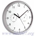 Стенен часовник 3 в 1 с термометър и хидрометър - Германия