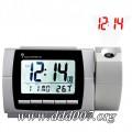 Радиоуправляем цифров часовник TFA с термометър и цифров проектор.