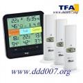 """Метеорологична станция TFA с три датчика """"Klima-Home"""""""