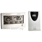"Луксозен, безжичен електронен термометър – хидрометър ""TWIN PLUS"""
